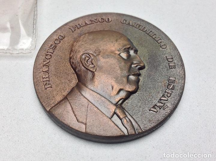 Medallas temáticas: MEDALLA FUNDACION NACIONAL FRANCISCO FRANCO - 20 - 11 - 1976 - PRIMER ANIVERSARIO - Foto 2 - 120498975