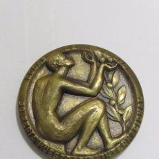 Medallas temáticas: MEDALLA CONMEMORATIVA, FERIA DE MUESTRAS DE VALENCIA (1972). Lote 120545583