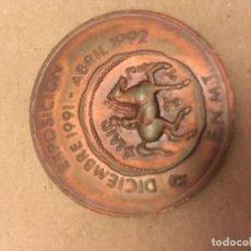 Medallas temáticas: MEDALLA EXPOSICIÓN FNMT . Lote 120826691