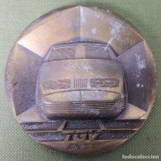 Medallas temáticas: MEDALLA DE BRONCE. SNCF. TREN ALTA VELOCIDAD DE FRANCIA. CIRCA 1980. . Lote 121700955