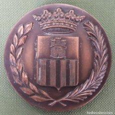 Medallas temáticas: MEDALLA DE BRONCE. CENTENARIO DE LA LLEGADA DEL TREN A VILANOVA. 1881-1981.. Lote 121742455
