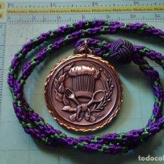 Medallas temáticas: MEDALLA MEDALLÓN DE LA HERMANDAD GASTRONÓMICA DE MÁLAGA SIGLO XXI. MIEMBRO COMENSAL.. Lote 122149339