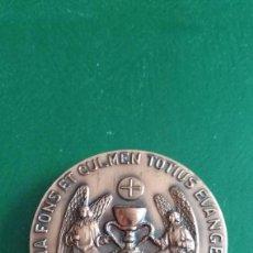 Medallas temáticas: MEDALLON- VIII CONGRESO EUCARISTICO NACIONAL VALENCIA .1972 .PESO 90 GRAMOS.. Lote 122361471