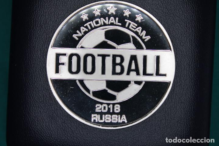 Medallas temáticas: España, Moneda conmemorativa de Fútbol Mundial Rusia 2018 - Foto 3 - 122898335