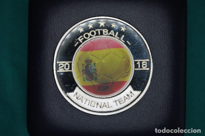 Medallas temáticas: España, Moneda conmemorativa de Fútbol Mundial Rusia 2018 - Foto 7 - 122898335