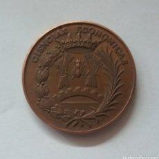 Medallas temáticas: MEDALLA CIENCIAS ECONOMICAS. Lote 122942594
