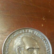 Medallas temáticas: SEVERO OCHOA PREMIO NOBEL DE FISIOLOGÍA Y MEDICINA 1959 PLATA PUNZONADA. Lote 122942768