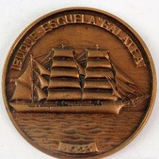 Medallas temáticas: MEDALLA EN BRONCE XXXIII SALON NAUTICO INTERNACIONAL BARCELONA. AÑO 1994. Lote 123000971