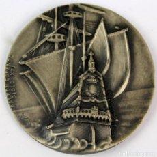 Medallas temáticas: MEDALLA EN BRONCE V SALON NAUTICO INTERNACIONAL BARCELONA. AÑO 1967. Lote 123021171