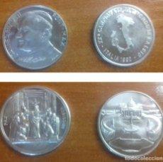 Medallas temáticas: MEDALLAS 1990 JUAN PABLO II - MUNDIAL ITALIA. Lote 124190299