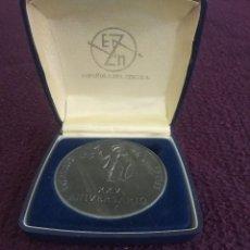 Medallas temáticas: MEDALLA CONMEMORATIVA 25 ANIVERSARIO DEL ZINC. Lote 124309163