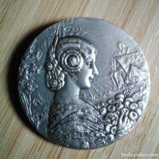 Medallas temáticas: MEDALLA CONMEMORATIVA ELECCION MISS ESPAÑA 1969 VALENCIA. Lote 125126395