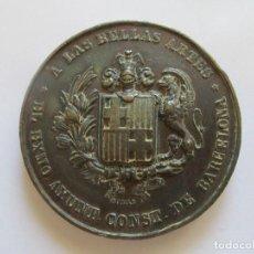 Medallas temáticas: MEDALLA * AL DISTINGUIDO ARQUITECTO D. ANTONIO ROVIRA Y TRIAS * BARCELONA 1860. Lote 126918547