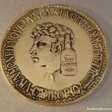 Medallas temáticas: MEDALLA DEL CENTENARIO DE BODEGAS TERRY - CAMBORIO - TEMA GARCIA LORCA. Lote 126979967