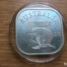 Medallas temáticas: AUSTRALIA. MEDALLA DE PLATA ENCAPSULADA. CONMEMORATIVA. 20,5 GRAMOS. Lote 127587587