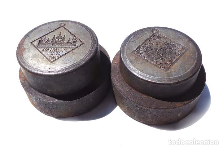 Medallas temáticas: TROQUEL.- MEDALLA RECUERDO PRIMER INTERCAMBIO ESCOLAR MADRID 1924 - Foto 3 - 127791135