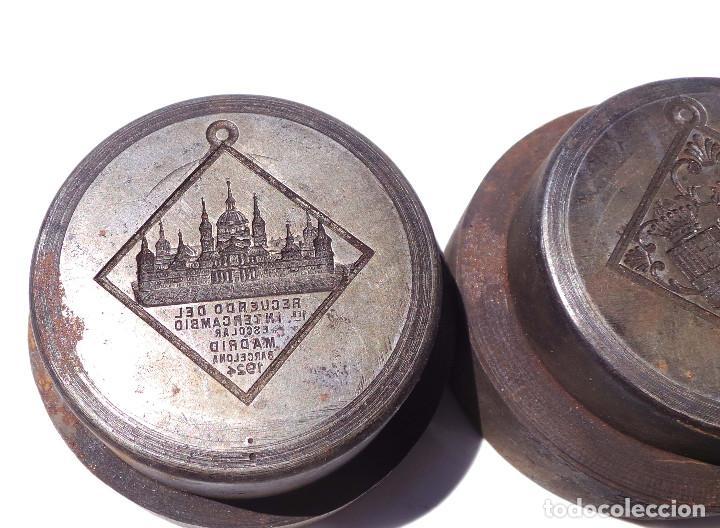Medallas temáticas: TROQUEL.- MEDALLA RECUERDO PRIMER INTERCAMBIO ESCOLAR MADRID 1924 - Foto 4 - 127791135