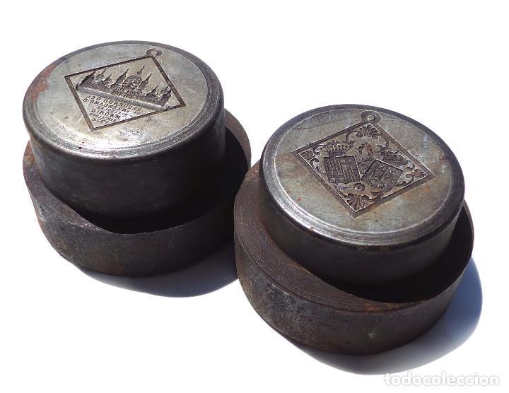 Medallas temáticas: TROQUEL.- MEDALLA RECUERDO PRIMER INTERCAMBIO ESCOLAR MADRID 1924 - Foto 6 - 127791135