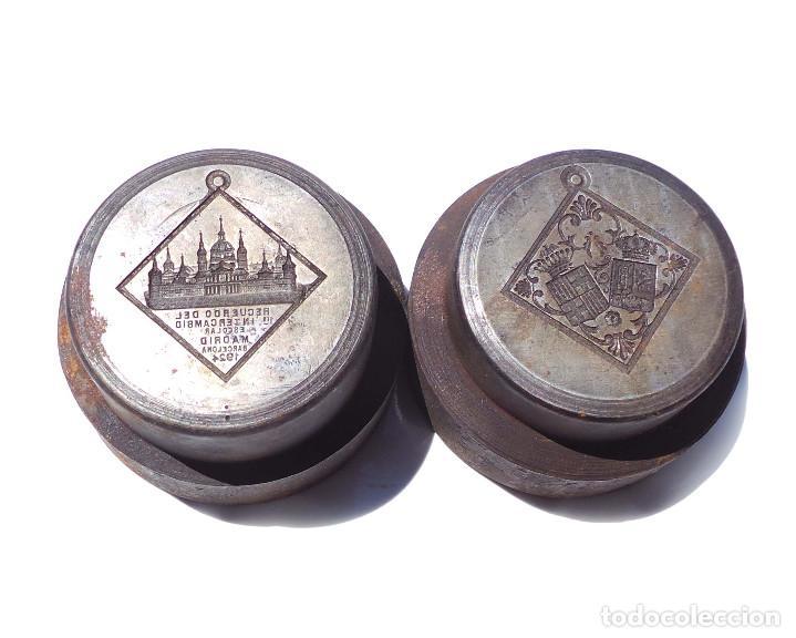 Medallas temáticas: TROQUEL.- MEDALLA RECUERDO PRIMER INTERCAMBIO ESCOLAR MADRID 1924 - Foto 7 - 127791135