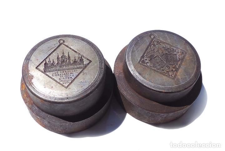 Medallas temáticas: TROQUEL.- MEDALLA RECUERDO PRIMER INTERCAMBIO ESCOLAR MADRID 1924 - Foto 8 - 127791135