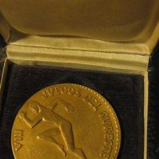 Medallas temáticas: MEDALLA DORADA ANTIGUA 1966 ALICANTE DEPORTE VIII JUEGOS DE CAJA SURESTE ALICANTE ESPAÑA. Lote 128511999