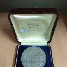 Medallas temáticas: MEDALLA PALACIO DE JUSTICIA DE BARCELONA. Lote 128730807