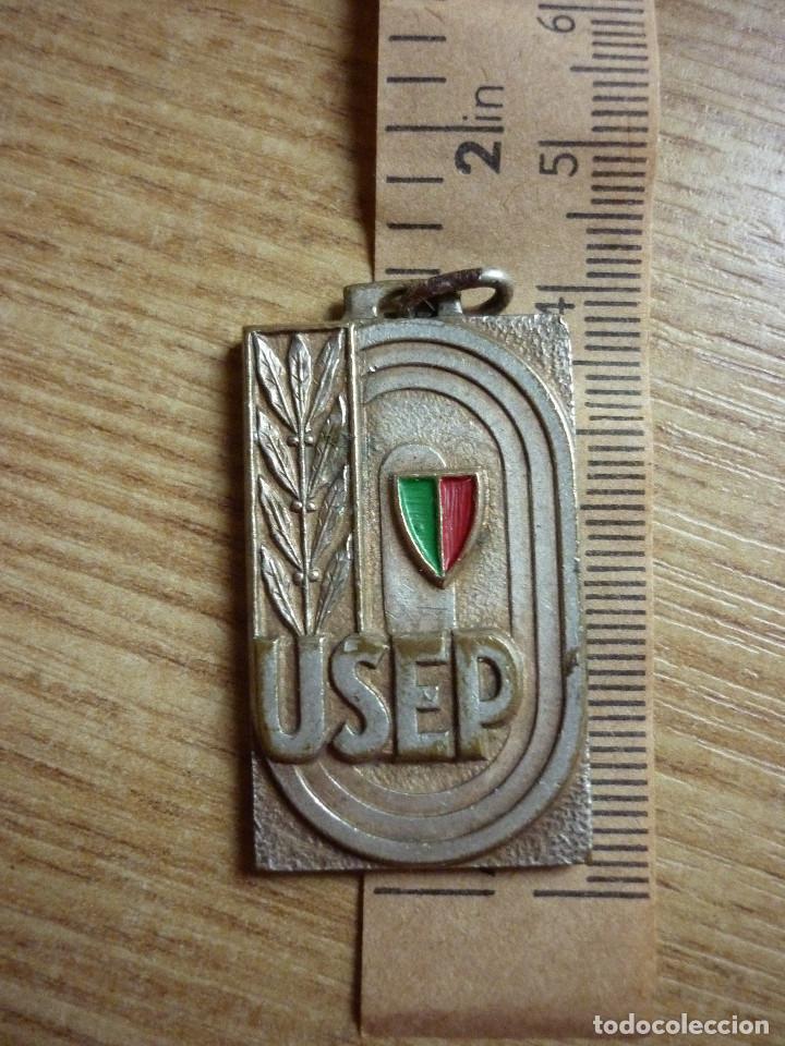 MEDALLA LIGA FRANCESA USEP L'ENSEIGNEMENT 1958 (Numismática - Medallería - Temática)