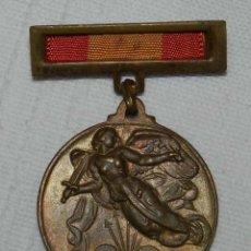 Medallas temáticas: MEDALLA DEL 18 DE JULIO, ALZAMIENTO Y VICTORIA CON PASADOR, AÑO 1939. (ÉPOCA FRANCO) MIDE 33 MM (DE . Lote 128885195