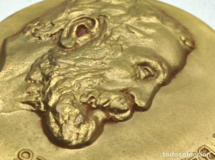 Medallas temáticas: MEDALLA EXPOSICION GAUDI BARCELONA 1967 - COLEGIO OFICIAL DE ARQUITECTOS - Foto 4 - 130618698