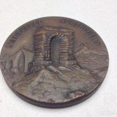 Medallas temáticas: MEDALLA MARTORELL AGRADECIDO - RESTAURACION PUENTE DEL DIABLO - 1963 - FRANCISCO FRANCO. Lote 130867348