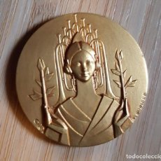 Medallas temáticas: MEDALLA CERTAMEN NACIONAL BANDAS MUSICA VALENCIA AÑOS 1960'S. Lote 130986160