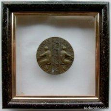 Medallas temáticas: MEDALLA POR LOS SERVICIOS PRESTADOS. TELEFÓNICA DE ESPAÑA. ENMARCADA.. Lote 131723218