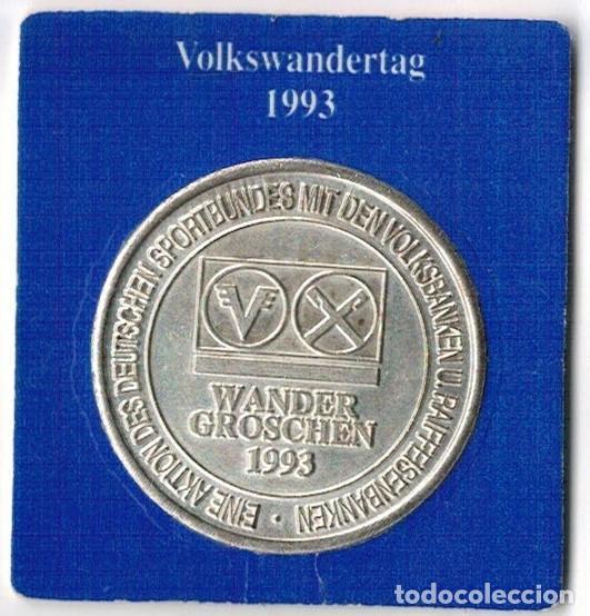 ALEMANIA - WANDER GROSCHEN 1993 - HANNOVER (Numismática - Medallería - Temática)