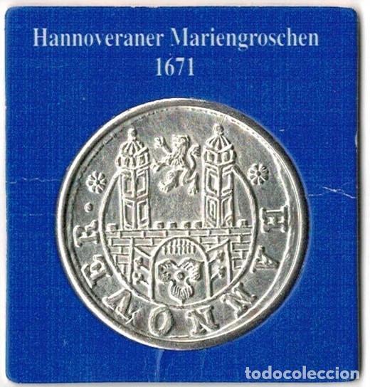 Medallas temáticas: ALEMANIA - WANDER GROSCHEN 1993 - HANNOVER - Foto 2 - 131848750