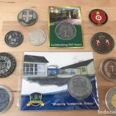 Medallas temáticas: LOTE DE 11 MEDALLAS DIFERENTES (NUEVAS). Lote 132392930