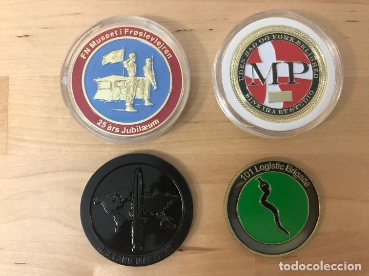 LOTE DE 4 MEDALLAS DIFERENTES (NUEVAS) - TEMATICA MILITAR (Numismática - Medallería - Temática)