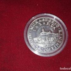 Medallas temáticas: MONASTERIO DE LA RÁBIDA. ONZA DE PLATA PURA DE 1988. V CENTENARIO DEL DESCUBRIMIENTO DE AMÉRICA. Lote 132397582