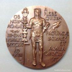 Medallas temáticas: MEDALLA DE BRONCE DE LA FNMT, XIX CENTENARIO DE LEÓN , 1968, 7,5 CMS. DE DIÁMETRO. NUEVA. Lote 152652913