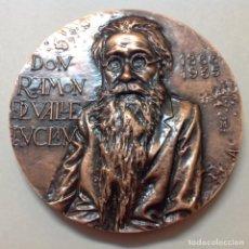 Medallas temáticas: MEDALLA DE BRONCE DE LA FNMT, A RAMON DEL VALLE INCLÁN, 8,5 CMS. DE DIÁMETRO. NUEVA, DE JLH. Lote 146694548