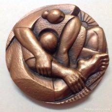 Medallas temáticas: MEDALLA DE BRONCE DE LA FNMT, FIRMADA F. REOLID, 1974, 8,5 CM. DE DIÁMETRO. NUEVA,. Lote 160504385