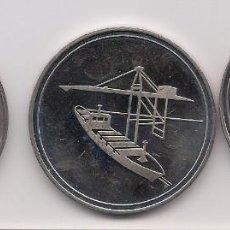 Medallas temáticas: GRAN BRETAÑA, MEDALLAS DE BARCOS DE LOS AÑOS 80. Lote 132519722