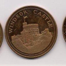 Medallas temáticas: GRAN BRETAÑA, MEDALLAS DE CASTILLOS Y PALACIOS. Lote 132520702