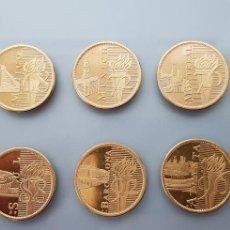 Medallas temáticas: COLECCION COMPLETA 10 MONEDAS OLIMPIADAS 1964-2000 BAÑADA ORO 22K. Lote 132527842
