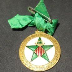 Medallas temáticas: XXVª HISPANA JUBILEA KONGRESO DE ESPERANTO 1964. Lote 132586794