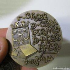 Medallas temáticas: MONEDA MEDALLA CLUB DE CAMPISMO DE ALCOBACA PORTUGAL 1945 1979 . Lote 132842874