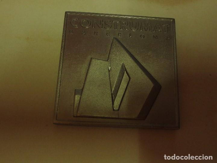 Medallas temáticas: DE ARQUITECTURA ANTIGUA MEDALLA O DISTINTIVO CONSTRUMAT BARCELONA 1997 - Foto 9 - 133213314