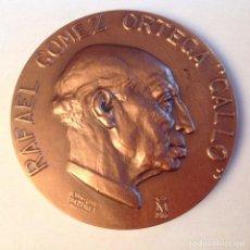 Medallas temáticas: MEDALLA DE R. GÓMEZ ORTEGAL, EL GALLO, FNMT, 1986, DE JUAN LUIS VASSALLO, 6,5 CMS. NUEVA.. Lote 133404354