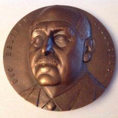 Medallas temáticas: MEDALLA A D. PÍO BELTRÁN VILLAGRASA, FNMT, 1964, DE 8 CMS. NUEVA. PRECIOSA. Lote 133405962
