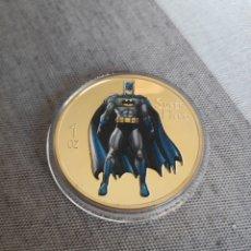 Medallas temáticas: MONEDA ORO DE BATMAN 1 OZ. Lote 140422190