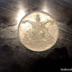 Medallas temáticas: MONEDA DE CONFITERÍA LUEGE CÁDIZ MASSONNET ED.. Lote 134402662